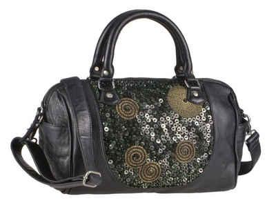 Billy The Kid Handtasche »Zari«, Handtasche, Shopper, Schultertasche 38x23cm, orientalisch inspiriertes Pailletten-Design