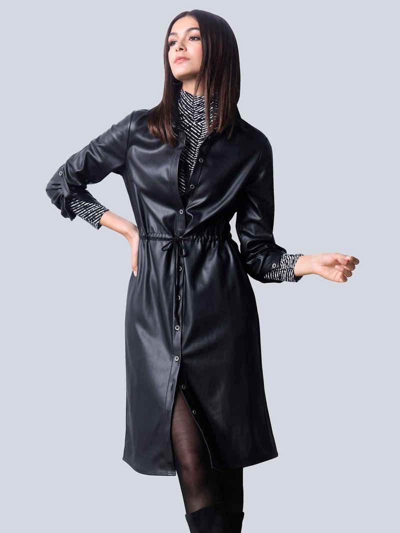 Alba Moda Lederkleid in Lederimitat-Qualität