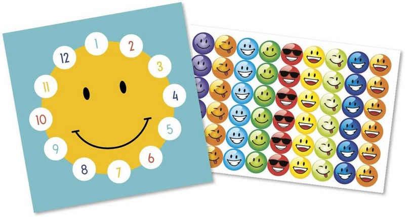LK Trend & Style Sticker »Belohnungssticker für Kinder mit Lerneffekt«, (Kinder), viele bunte Sticker zum Einkleben