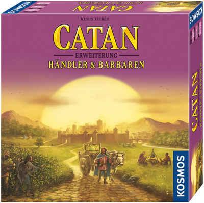 Kosmos Spiel, Erweiterungsspiel »Catan - Händler & Barbaren 2-4 Spieler«, Made in Germany