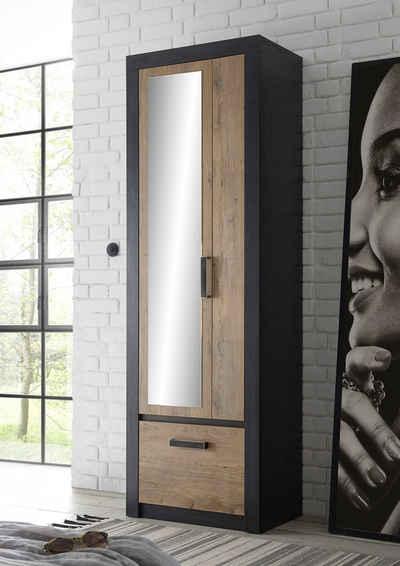 my home Garderobenschrank »BRÜGGE« mit einer dekorativen Rahmenoptik