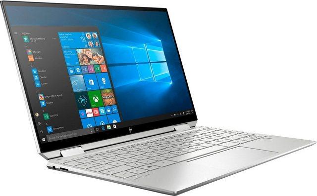 HP Spectre x360 13-aw2355ng Convertible Notebook 33,8 cm 13,3 Zoll, Intel Core i5, Iris Xe Graphics, 1000 GB SSD, Kostenloses Upgrade auf Windows 11, sobald verfügbar