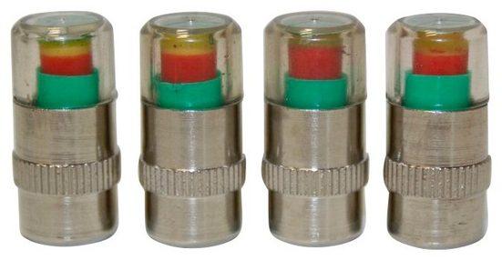 ROCCO Reifendruck-Kontrollsystem »Luftkontrollset«, 4-tlg. Premium-Set
