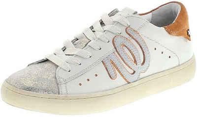 Wrangler »CLEVER WRG Damen Low-Top Sneaker Weiß« Schnürschuh