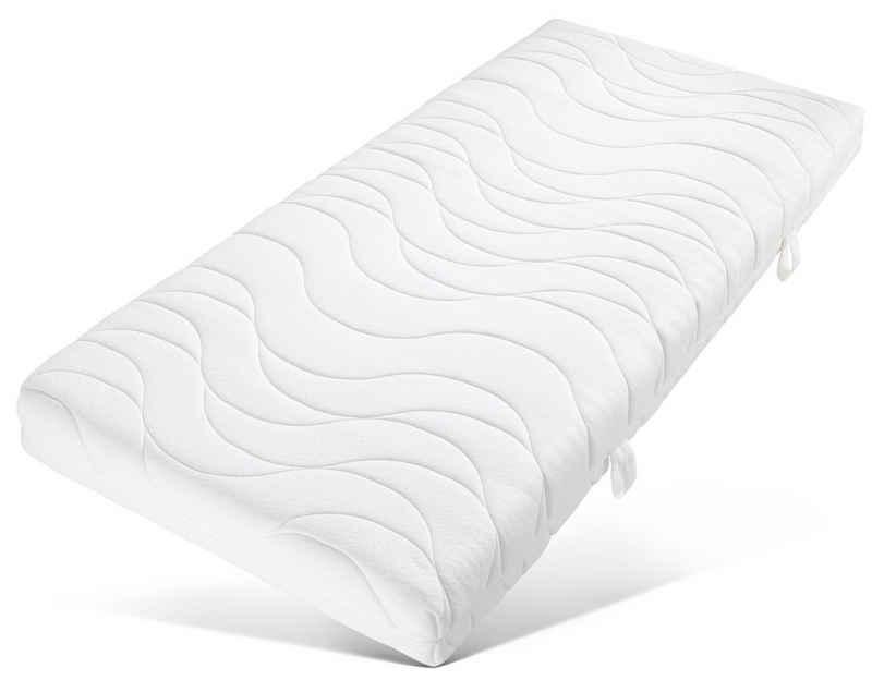 Komfortschaummatratze »Emmerik«, OTTO products, 16 cm hoch, Raumgewicht: 30, Weicher und pflegeleichter Bezug aus nachhaltigem Material --> Tue Gutes für Dich und die Umwelt