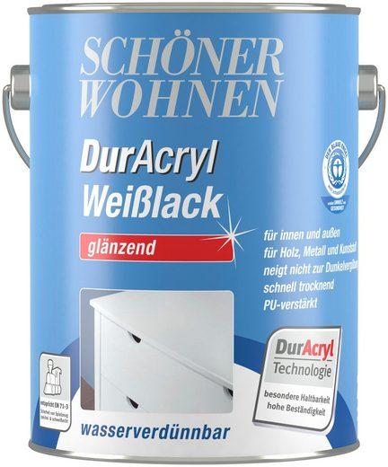 SCHÖNER WOHNEN FARBE Weißlack »DurAcryl Weißlack