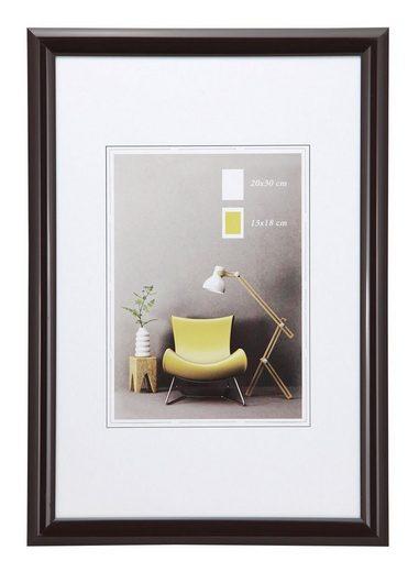 IDEAL TREND Bilderrahmen »Studio Line Kunststoff Bilderrahmen 13x18 cm bis 50x70 cm Foto Rahmen«