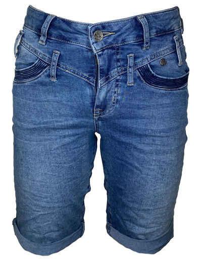 Buena Vista Jeansshorts »Florida-Short Stretch middle blue«