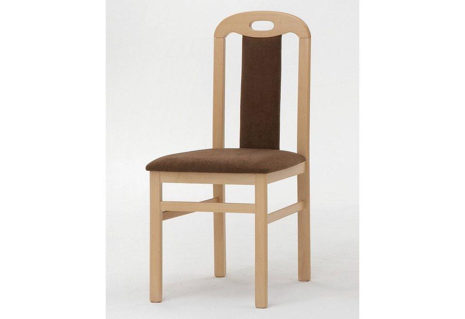 Stühle (2 Stck.) in braun