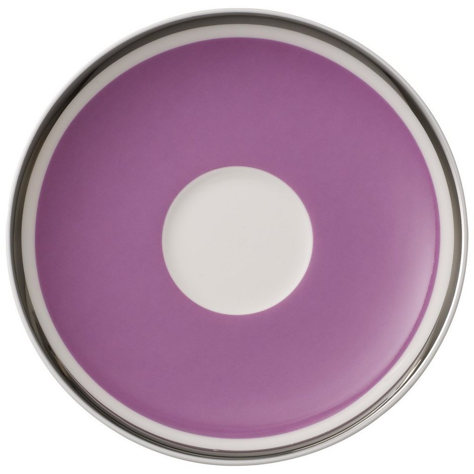 VILLEROY & BOCH Mokka-/Espressountertasse »Anmut My Colour Pink Rose« in Dekoriert