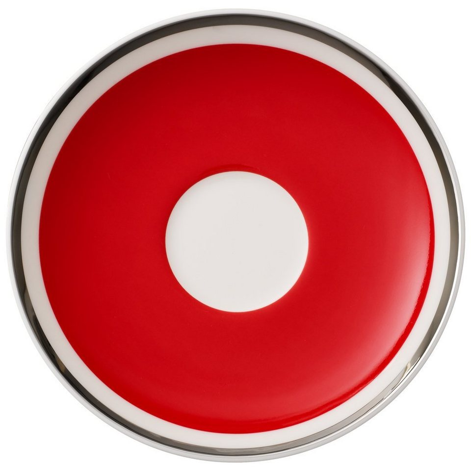 VILLEROY & BOCH Mokka-/Espressountertasse »Anmut My Colour Red Cherry« in Dekoriert