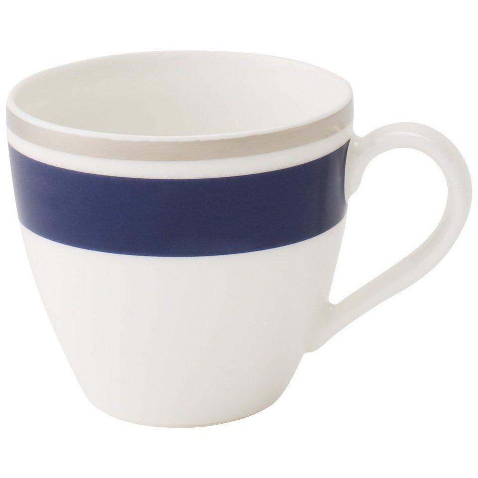 VILLEROY & BOCH Mokka-/Espressoobertasse »Anmut My Colour Ocean Blue« in Dekoriert