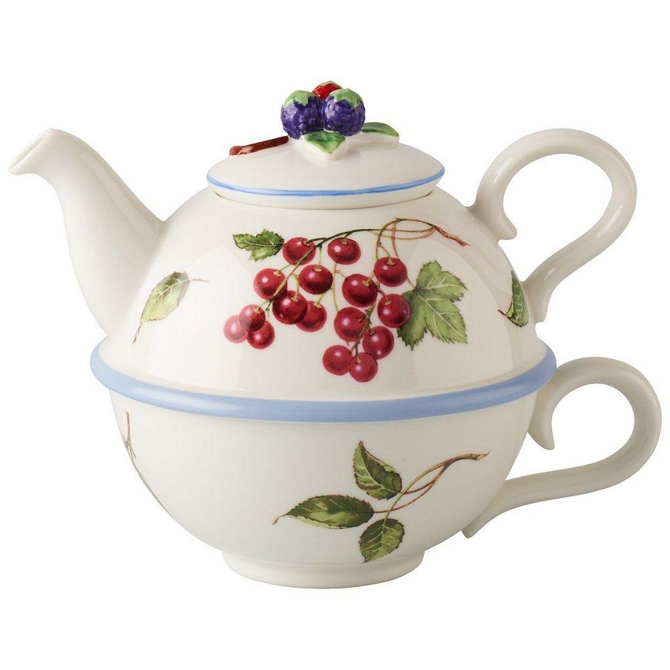 villeroy boch tea for one tasse kanne 15cm cottage. Black Bedroom Furniture Sets. Home Design Ideas
