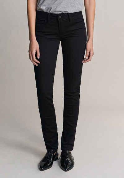 Salsa Slim-fit-Jeans »Wonder« Push Up, Slim Fit, Schwarz True Black