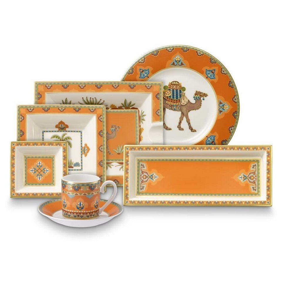 VILLEROY & BOCH Ascher 17x21cm »Samarkand Mandarin« in Dekoriert
