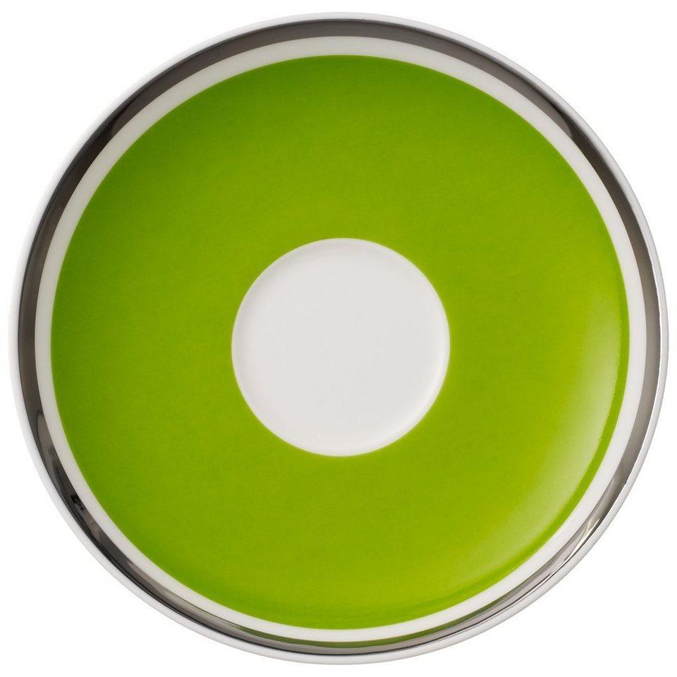 VILLEROY & BOCH Mokka-/Espressountertasse »Anmut My Colour Forest Green« in Dekoriert