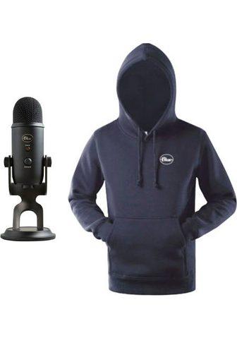 Blue Mikrofon »Yeti« ir Hoodie
