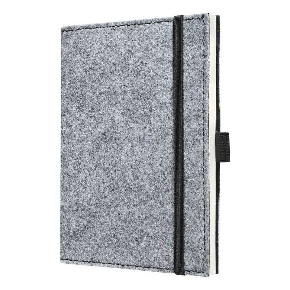 Sigel Notizbuch »Conceptum Pure Grey«