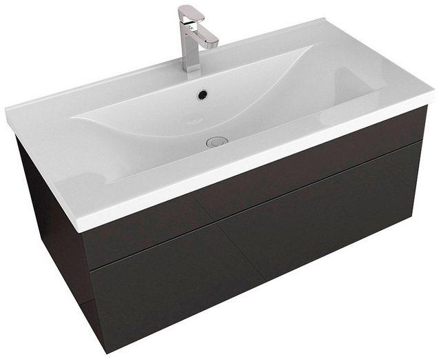 Waschtische - HOME DELUXE Waschtisch »Wangerooge BIG S« (Set, 2 St), edle Hochglanzoptik  - Onlineshop OTTO