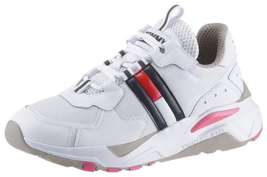 TOMMY JEANS »WMN TOMMY JEANS COOL RUNNER« Keilsneaker im leichtem Materialmix
