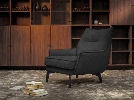 furninova Loungesessel »Willow«, bequemer Loungesessel im skandinavischen Design