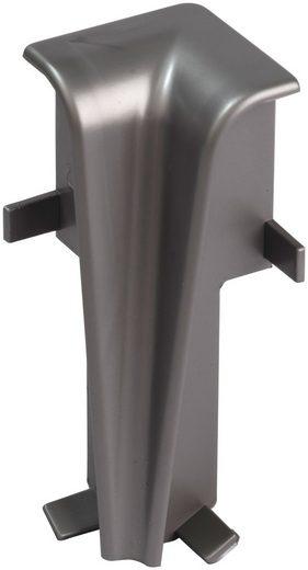 EGGER Innenecke »Universal silber«, für 6 cm Sockelleiste