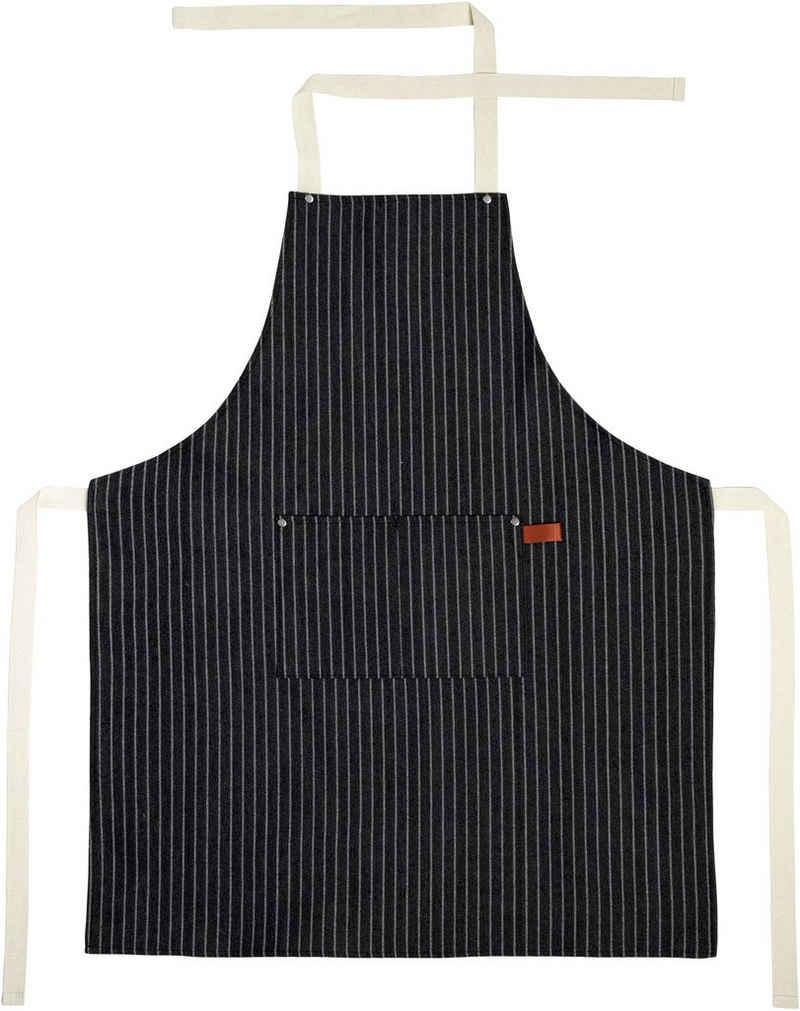 stuco Kochschürze »gestreift«, (1-tlg), mit Brusttasche