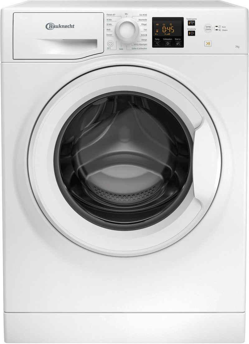 BAUKNECHT Waschmaschine WBP 714 N, 7 kg, 1400 U/min
