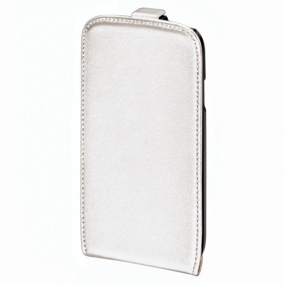 Hama Flap-Tasche Smart Case für Samsung Galaxy S III/S III Neo, Weiß in Weiß
