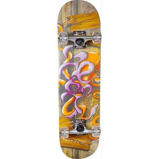 New Sports Skateboard Octopus, Länge 78,7 cm, ABEC 7