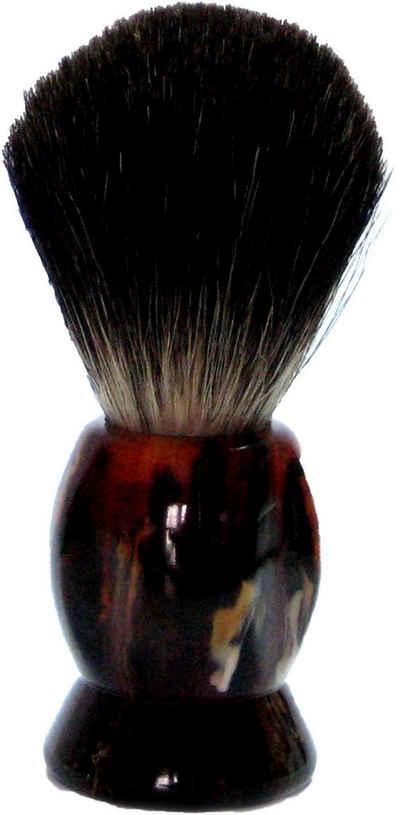 Golddachs Rasierpinsel, 100% Dachshaar, schildpatt