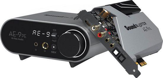 Creative Sound Blaster AE-9PE Soundkarte 7.1 Virtual Surround