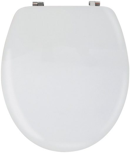 MSV WC-Sitz »WEISS«, Acryl