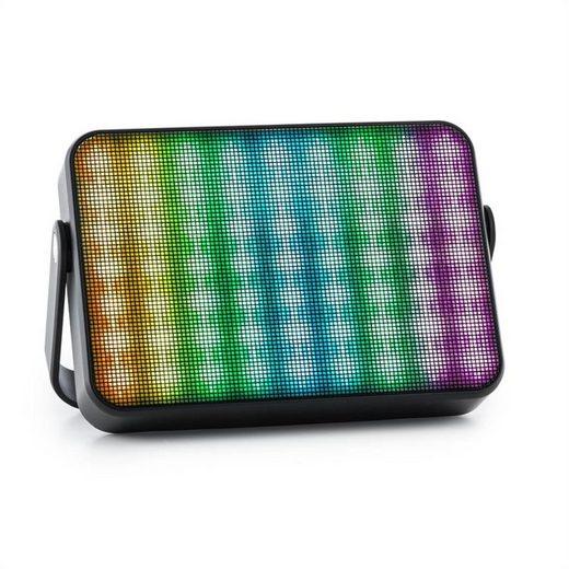 Auna Dazzl 5.0 Bluetooth-Lautsprecher LED AUX Akku Freisprecheinrichtung mobil Bluetooth-Speaker