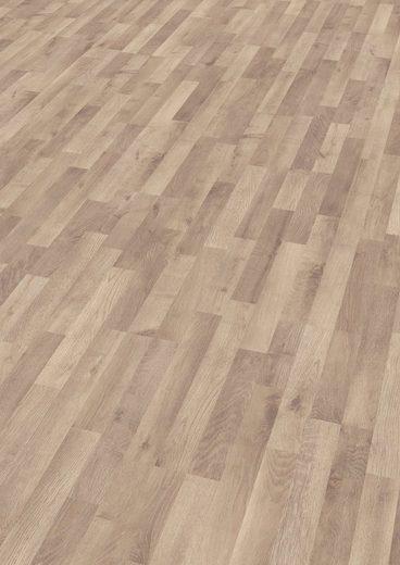 EGGER Laminat »HOME Garrison Eiche grau«, Packung, ohne Fuge, 1,985 m²/Pkt., Stärke:8 mm