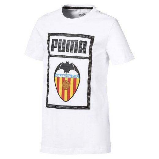 PUMA T-Shirt »Valencia CF Shoe Tag Kinder T-Shirt«
