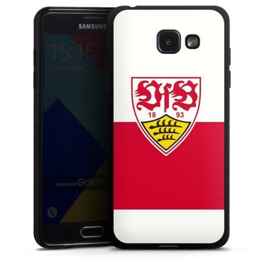 DeinDesign Handyhülle »VfB Stuttgart Brustring« Samsung Galaxy A5 (2016), Hülle VfB Stuttgart Offizielles Lizenzprodukt Logo