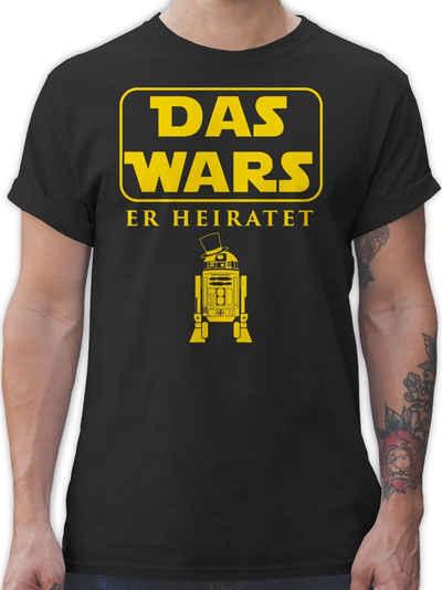 Shirtracer T-Shirt »Das Wars JGA Er Heiratet - JGA Junggesellenabschied Männer - Herren Premium T-Shirt«