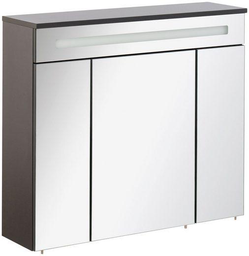 FACKELMANN Spiegelschrank »Kara« Breite 80 cm, LED-Badspiegelschrank