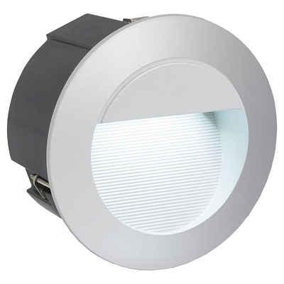 click-licht LED Einbauleuchte »LED Außenwandeinbauleuchte IP65 inkl. LED 125mm«, Einbaustrahler, Einbauleuchte