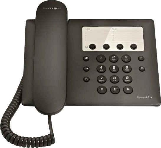Telekom »Concept P 214« Kabelgebundenes Telefon