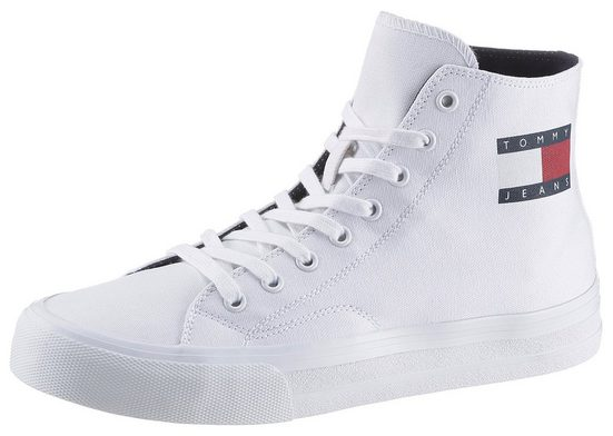 TOMMY JEANS »MIDCUT LACE UP VULC.« Sneaker mit Logoschriftzug