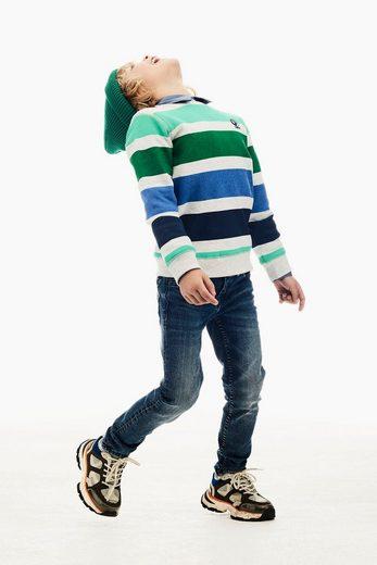 Garcia Sweater mit Gummiaufdruck
