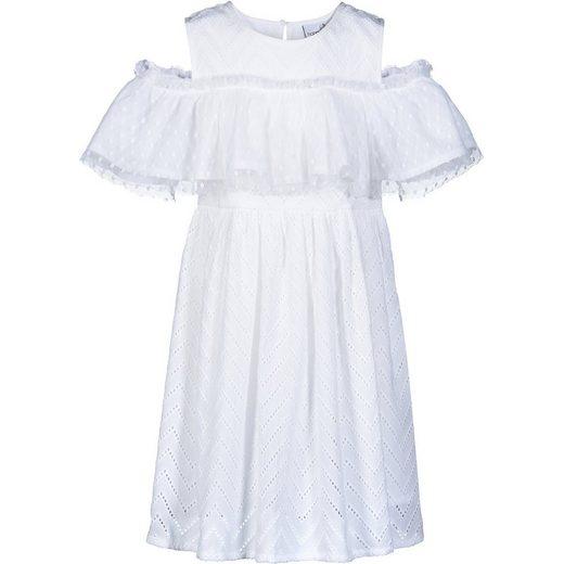happy girls Kinder Kleid Off-Shoulder