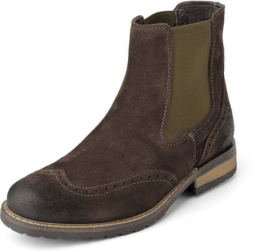 Belmondo Chelsea-Boot in braun-dunkel