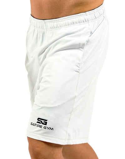 SATIRE GYM® Trainingsshorts »Loose Fit Shorts« verstellbarer Kordelzug