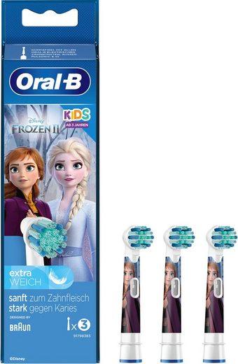 Oral B Aufsteckbürsten »Eiskönigin«, für Kinder ab 3 Jahren