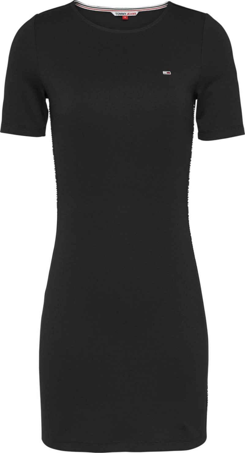Tommy Jeans Jerseykleid »TJW Bodycon Tape Dress« mit Tommy Jeans Logo-Schriftzügen an den Seitennähten & Flag