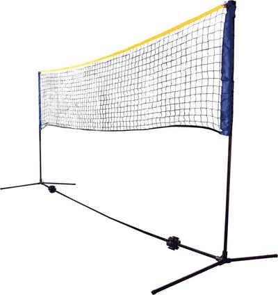 Talbot-Torro Badmintonnetz »Schildkröt Funsport Combi Federball Netz-Set mit Tragetasche«
