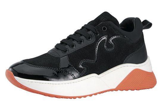 Heine Sneaker mit trendig breiter Sohle
